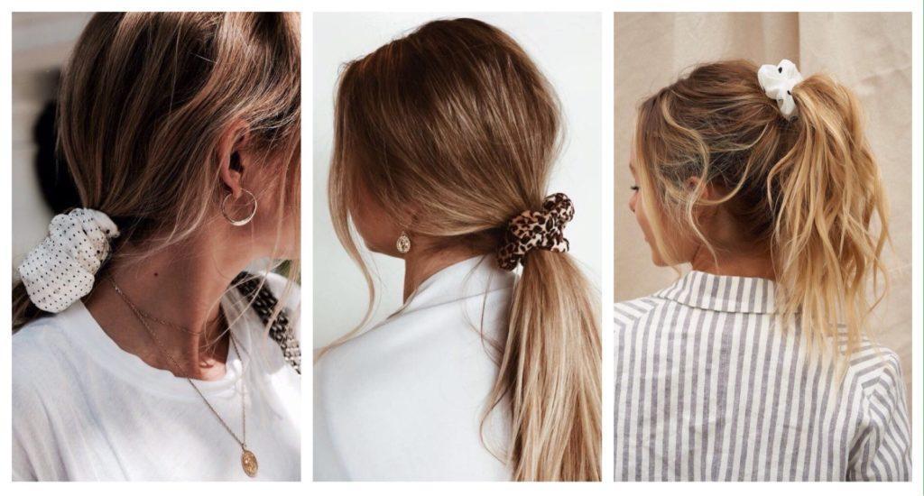 образы с резинкой для волос