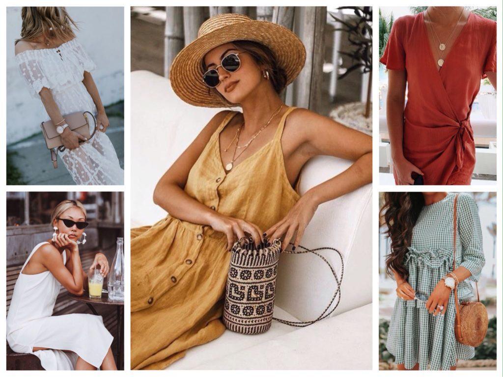 аксессуары для летнего платья