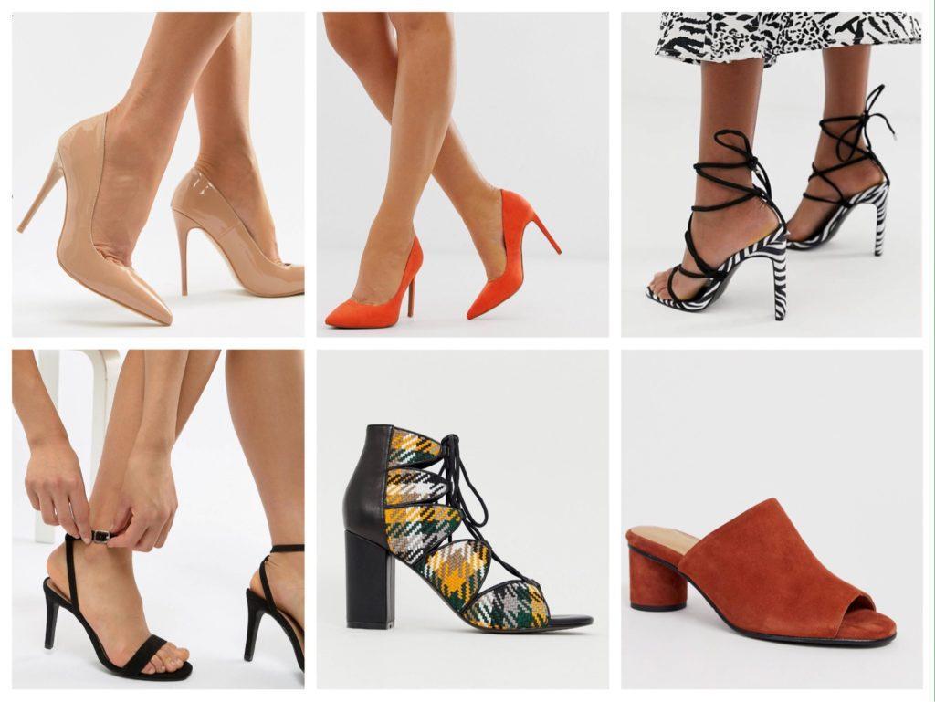 летняя обувь к платью