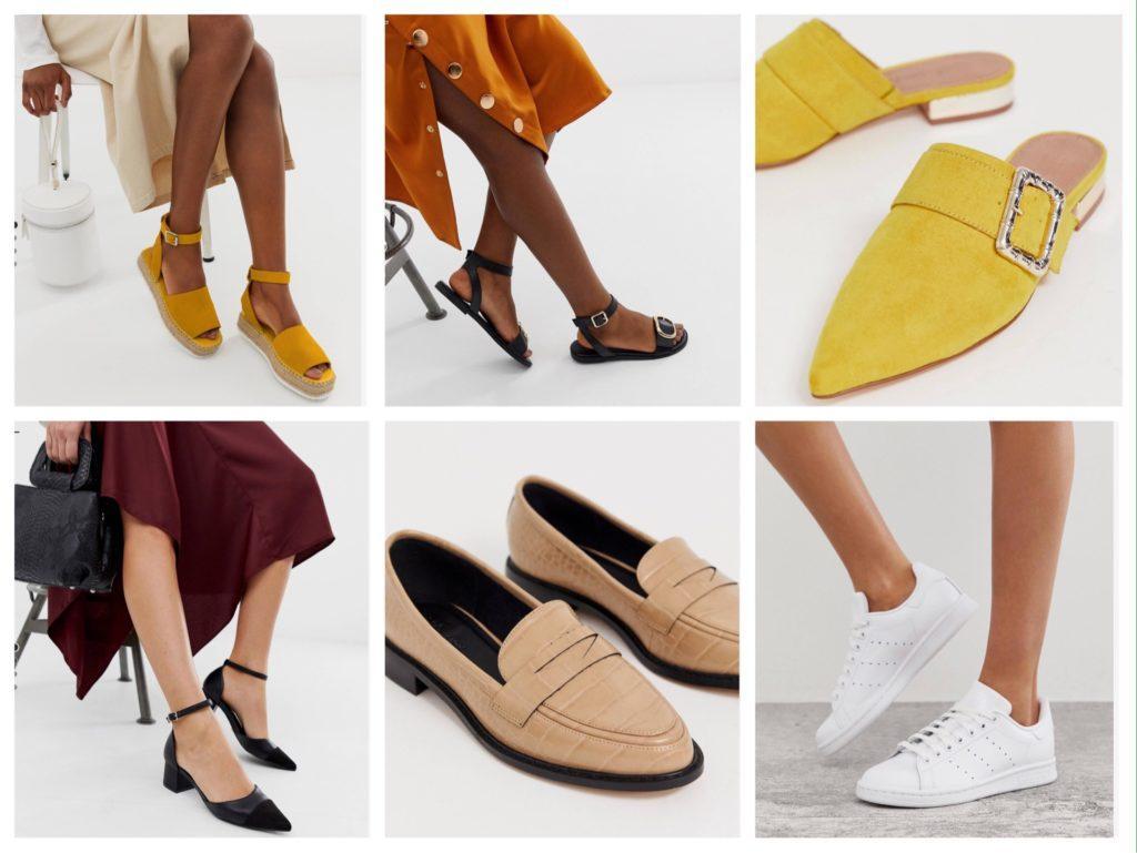 обувь для летних платьев