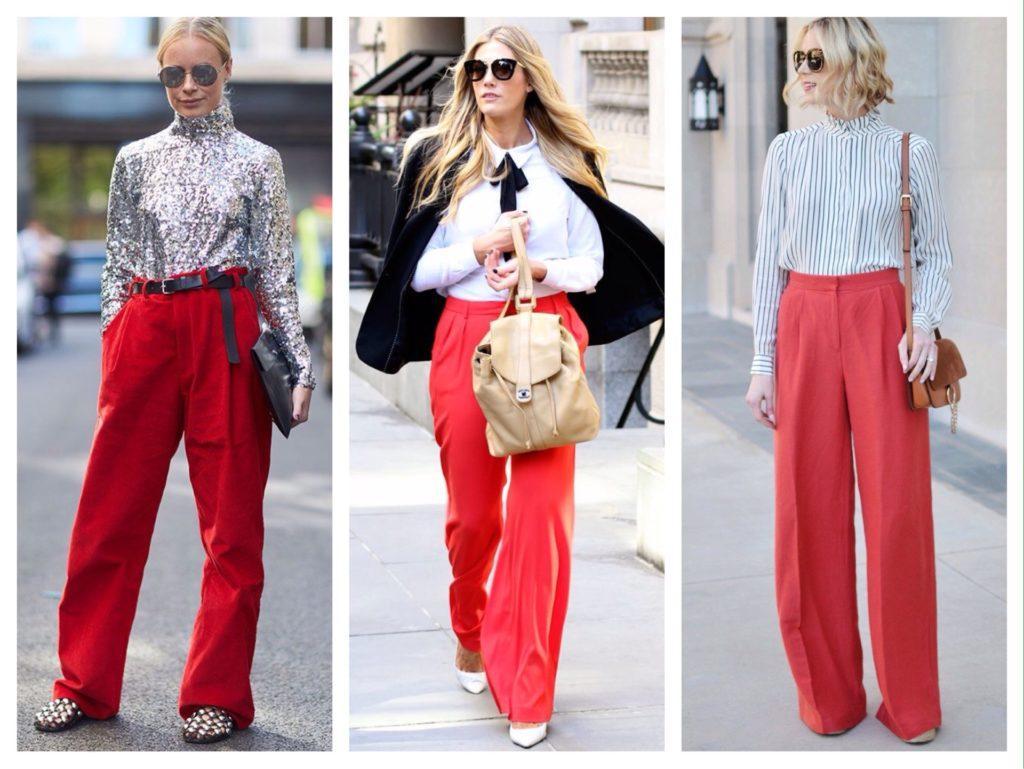 широкие модели брюк