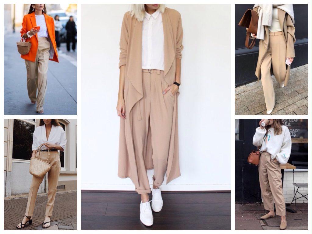 модные комплекты с брюками