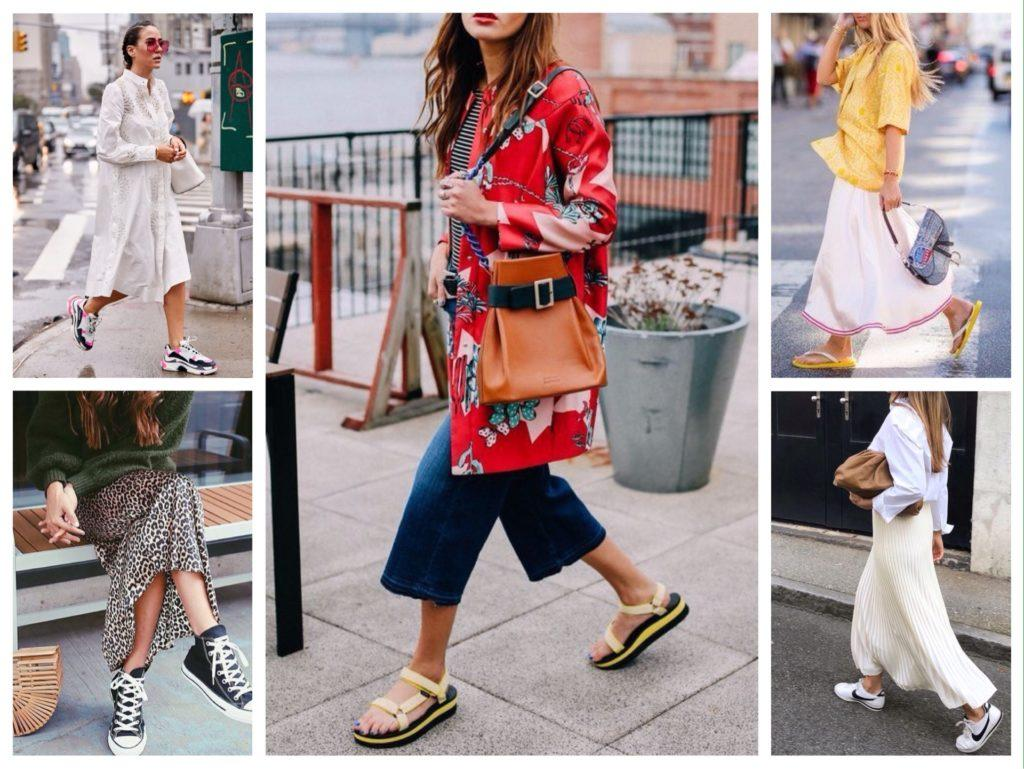 модные тренды обуви