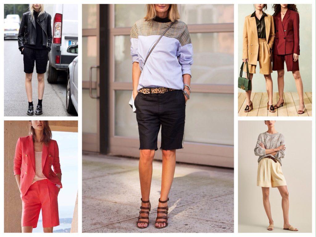 образы с шортами для прогулок