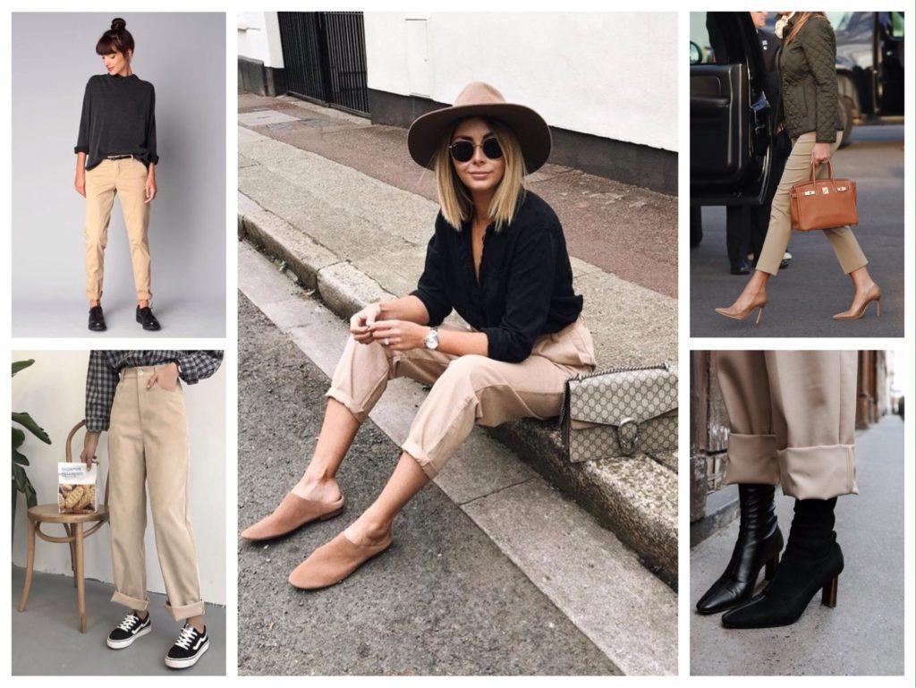 обувь к брюкам фото