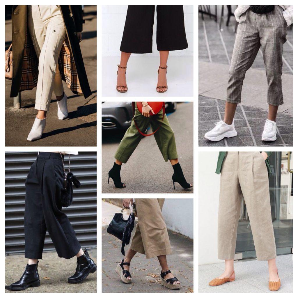 обувь с брюками 7 8