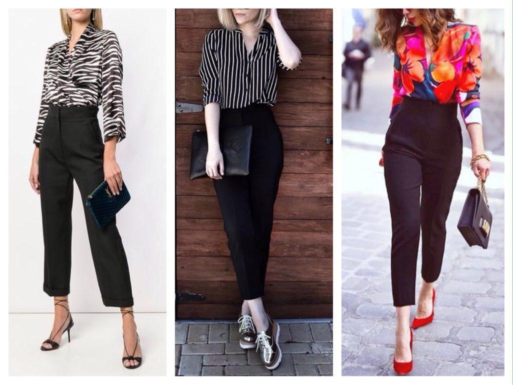 варианты аксессуаров к брюкам