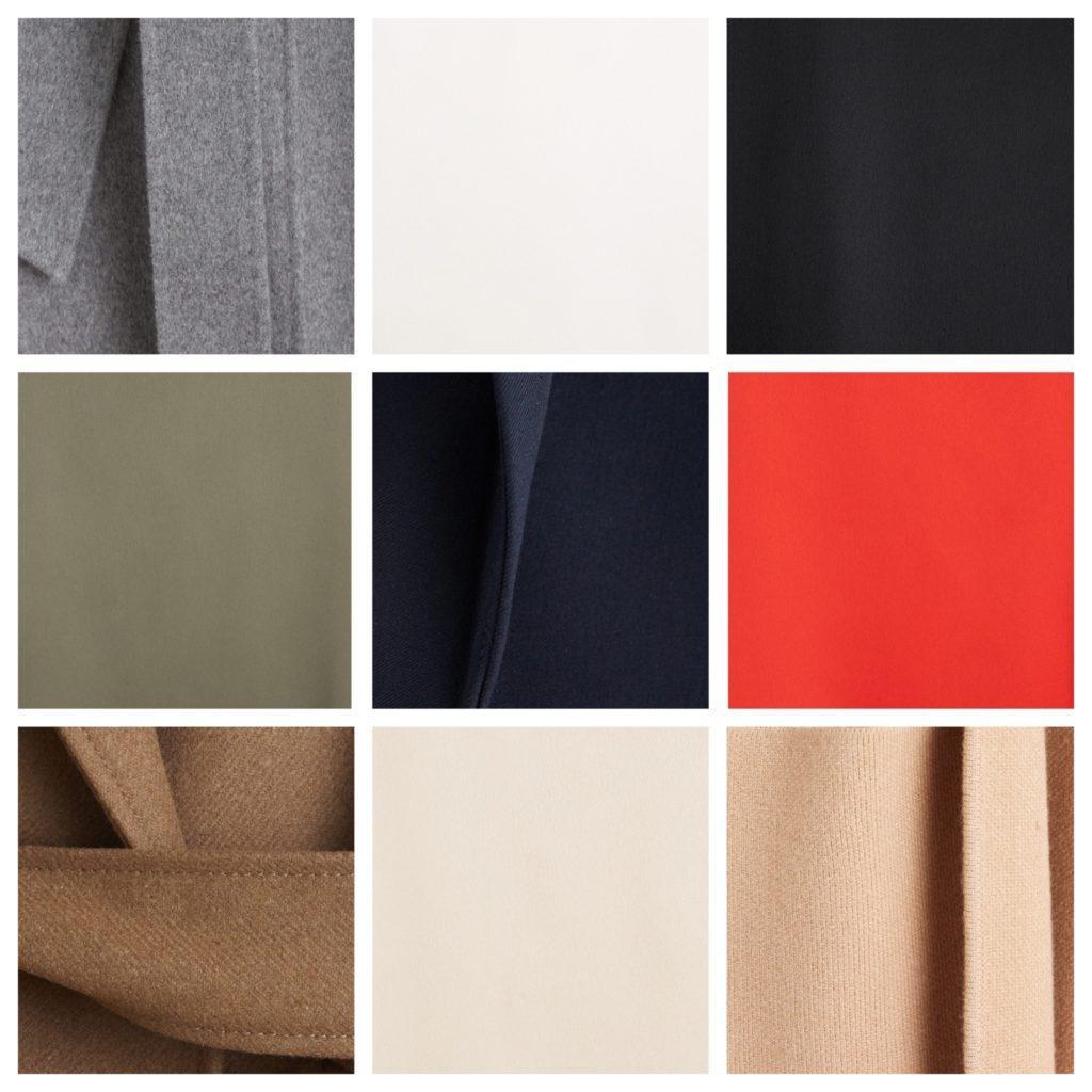 цвета и ткани деловой одежды