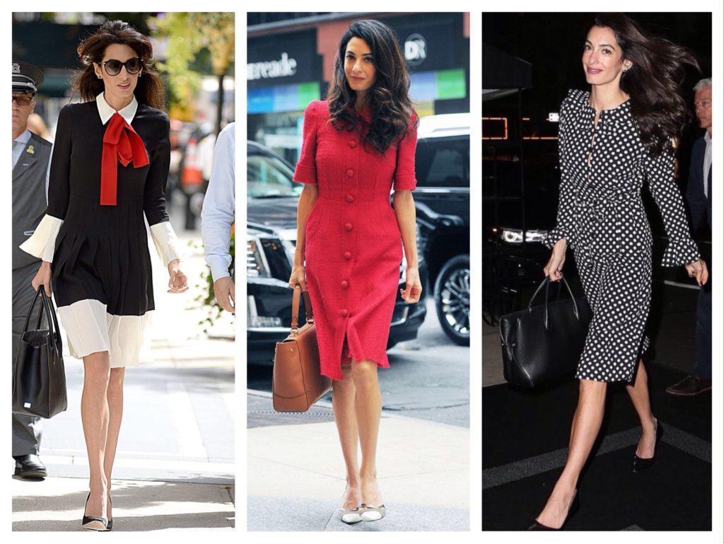 деловые женственные образы Амаль Клуни