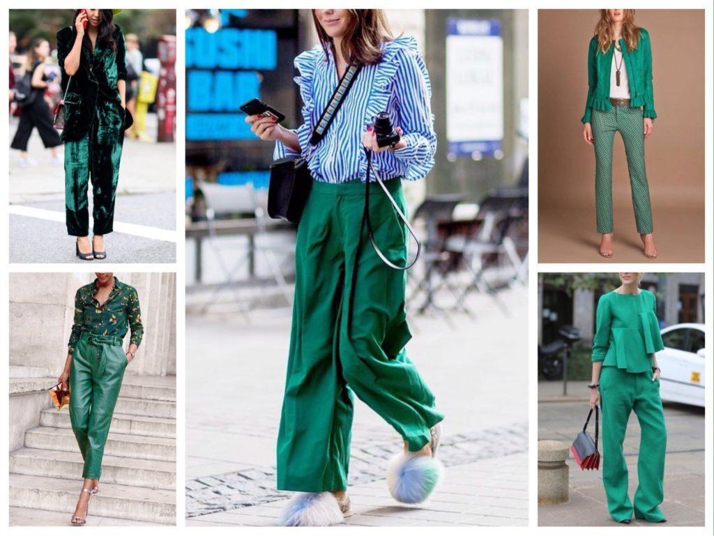 оттенок зеленая сосна комплекты одежды