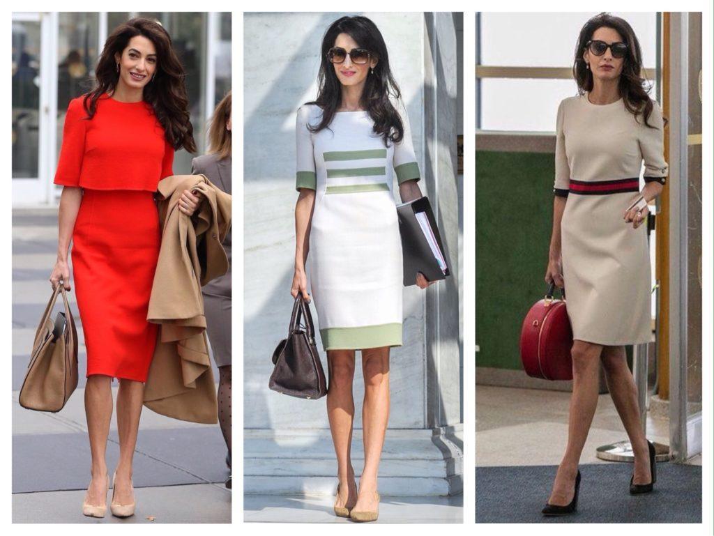 платья Амаль Клуни