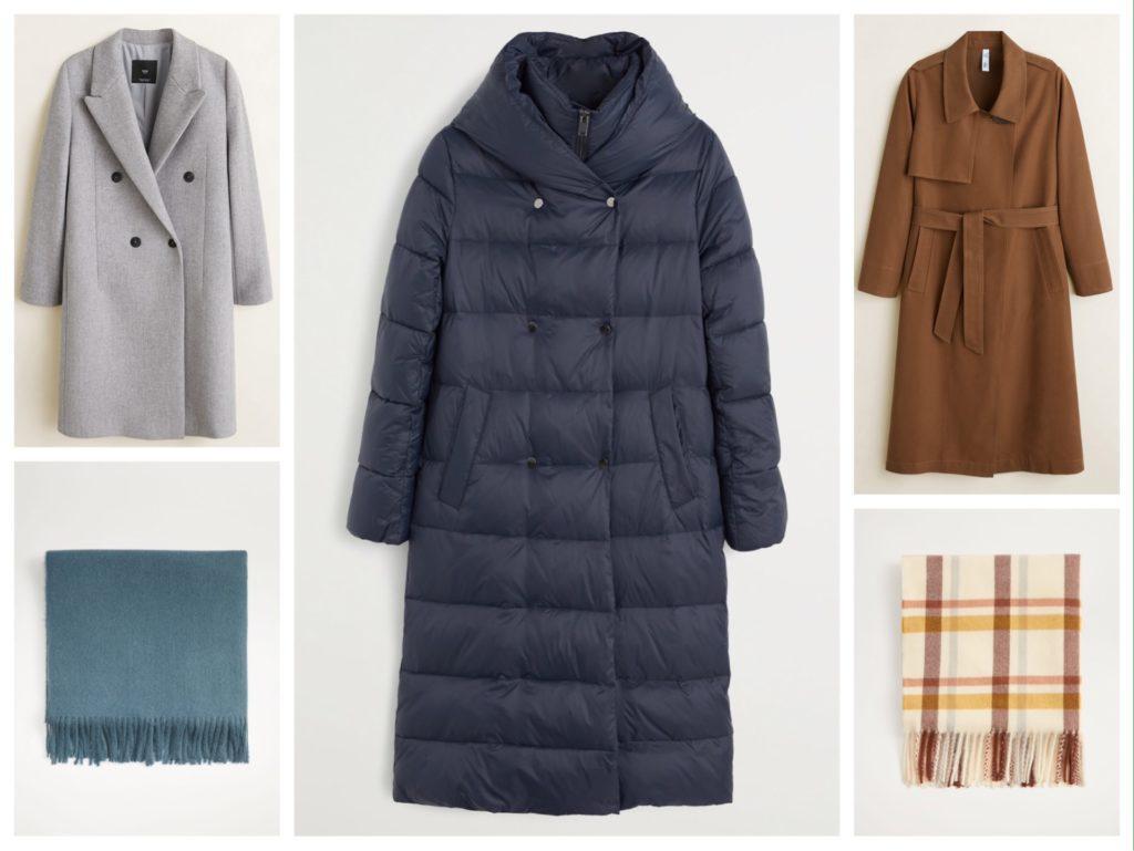 пример деловой верхней одежды на осень зиму