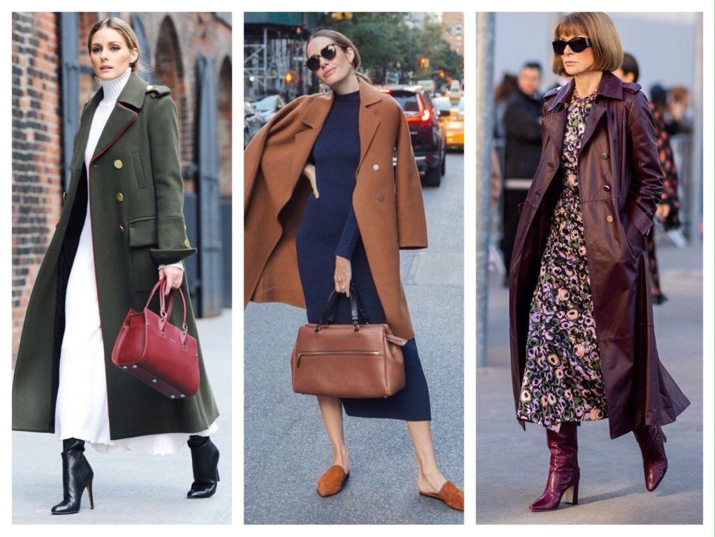 платья с пальто