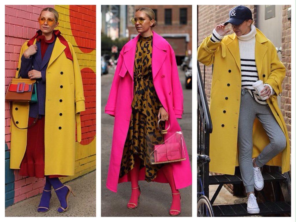 Bleir Eadie яркие образы с пальто