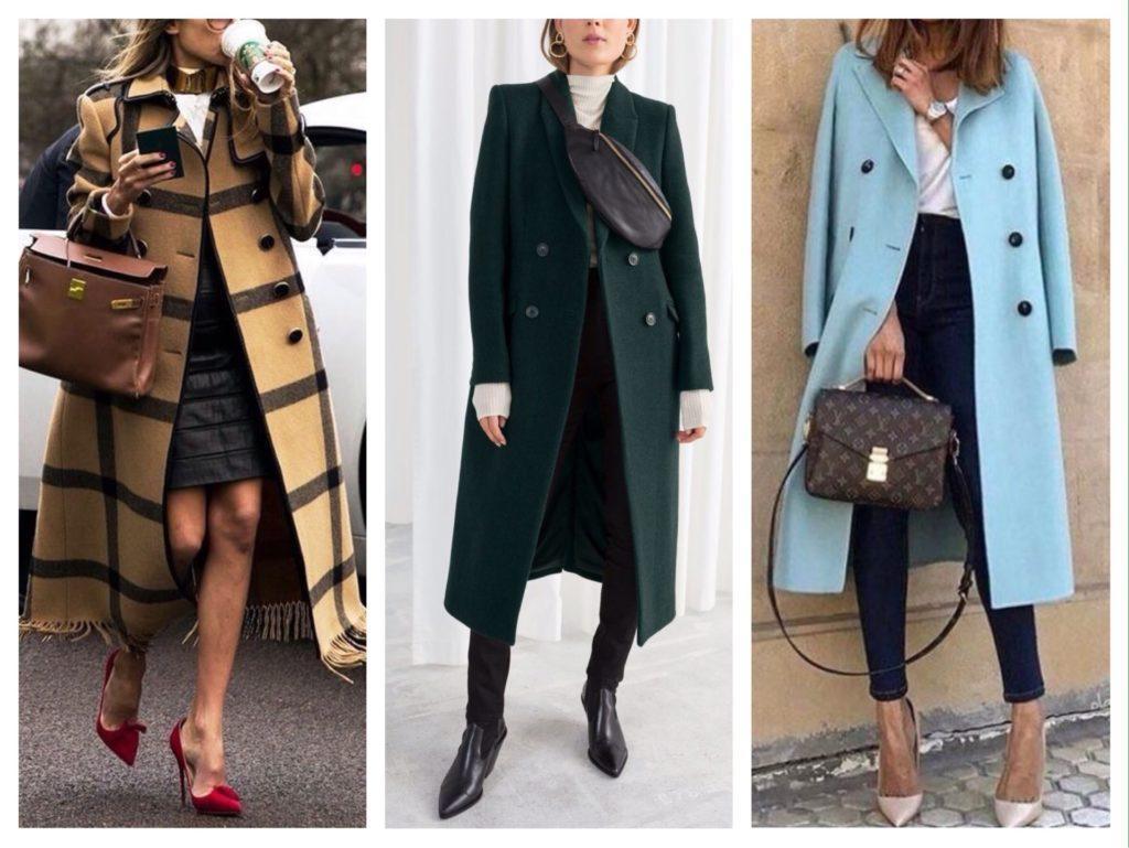 сумка с пальто