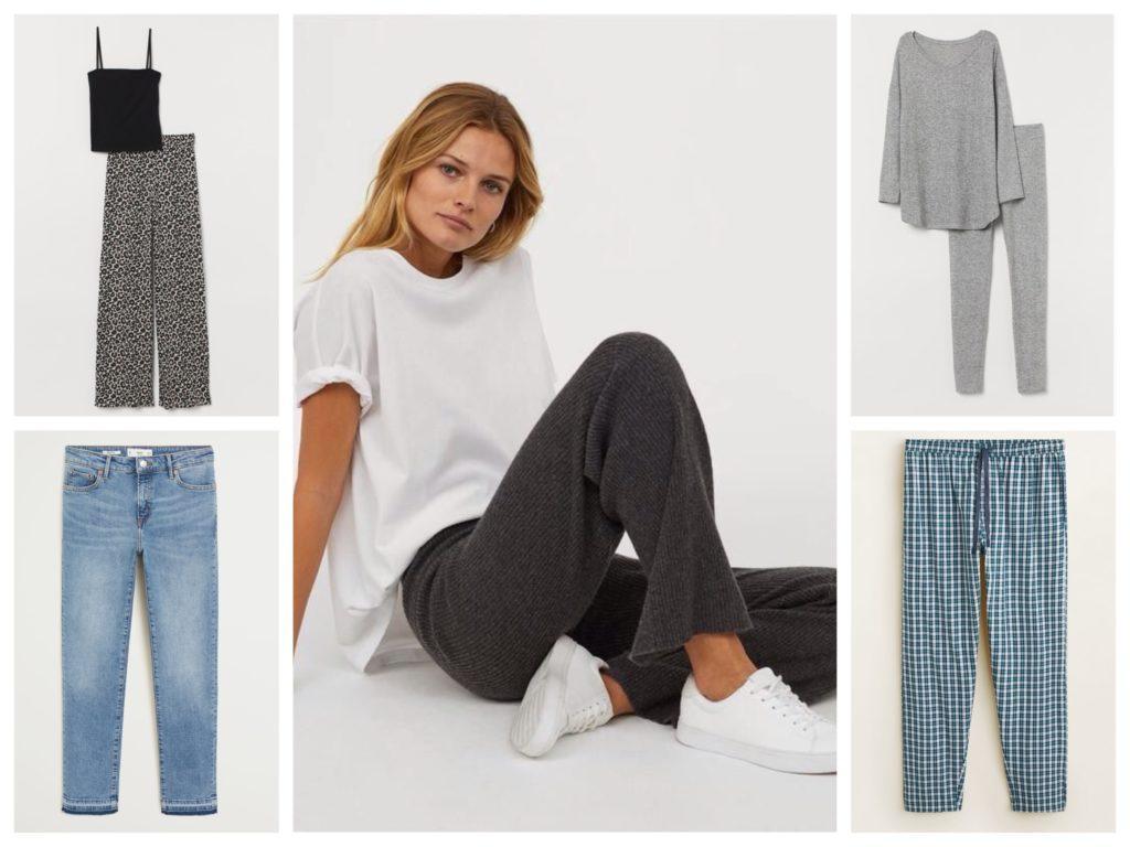 брюки и джинсы для дома