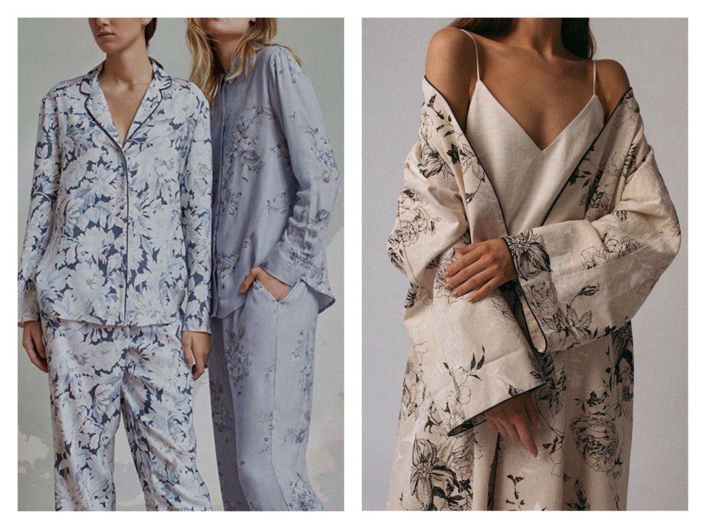 пижамы и кимоно