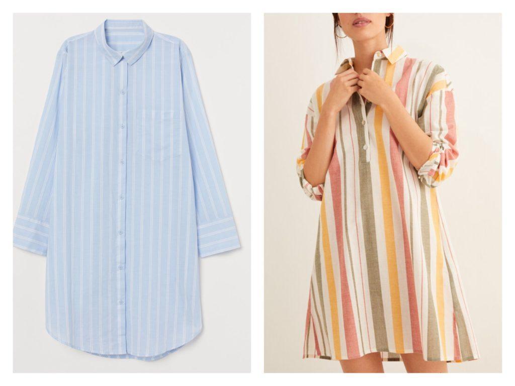платья рубашки для дома