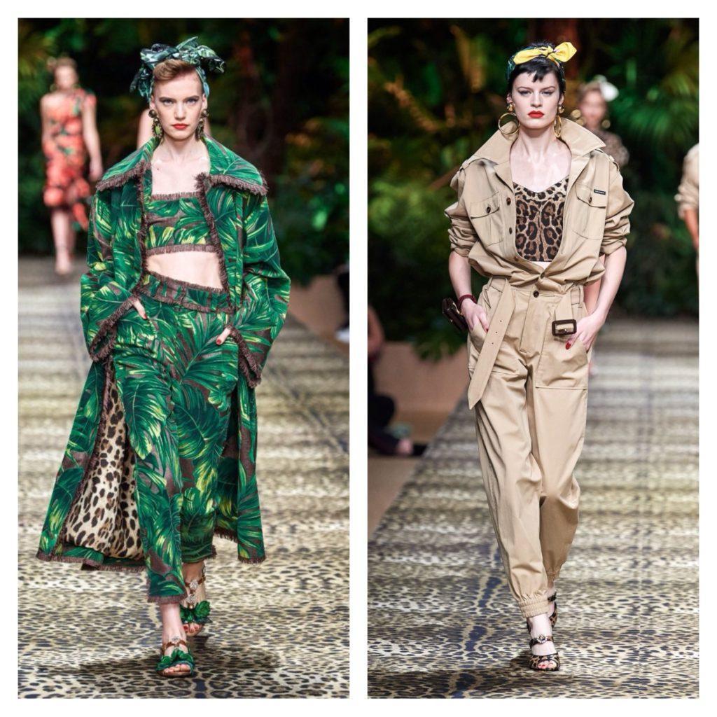 С показа Dolce Gabbana