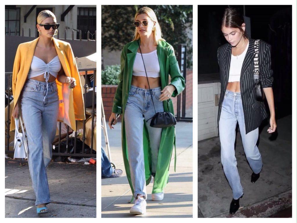в образах с джинсами