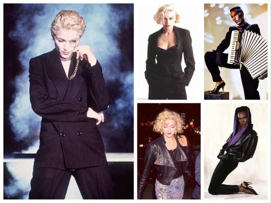 Образы Мадонны и Грейс Джонс