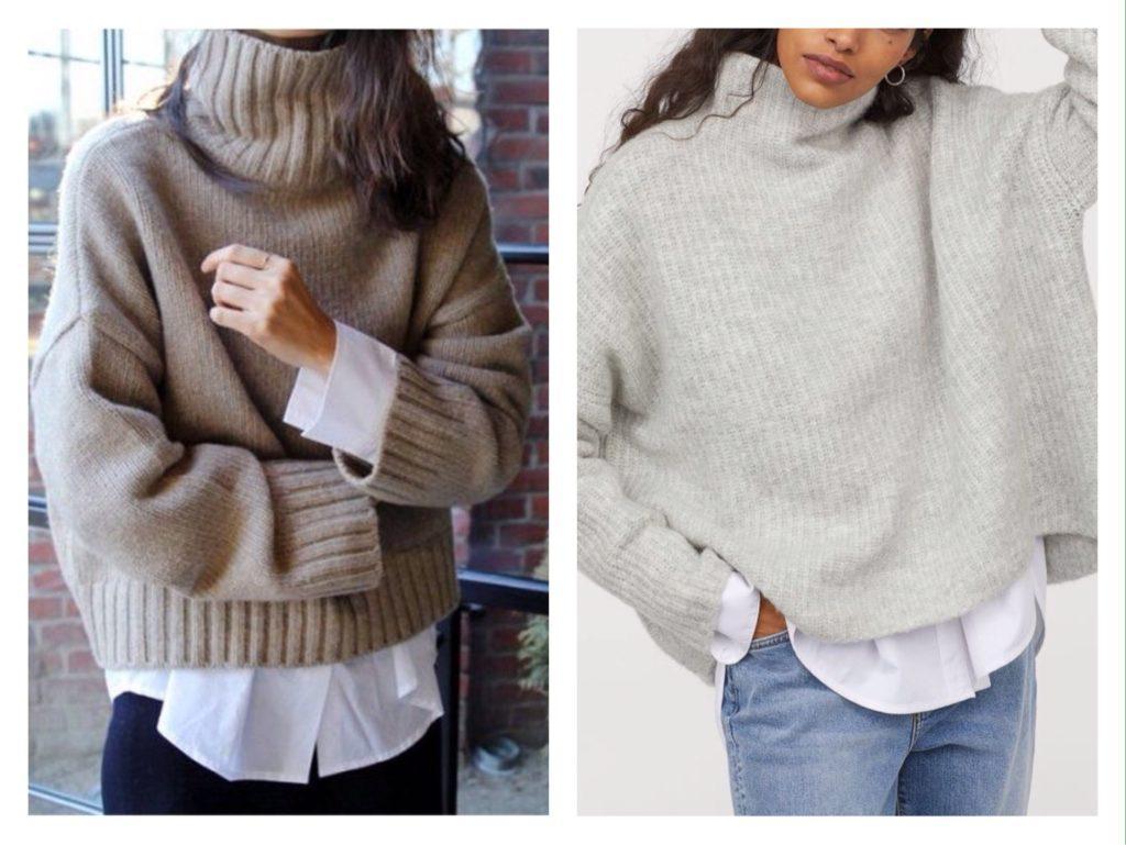 объемные модели свитеров