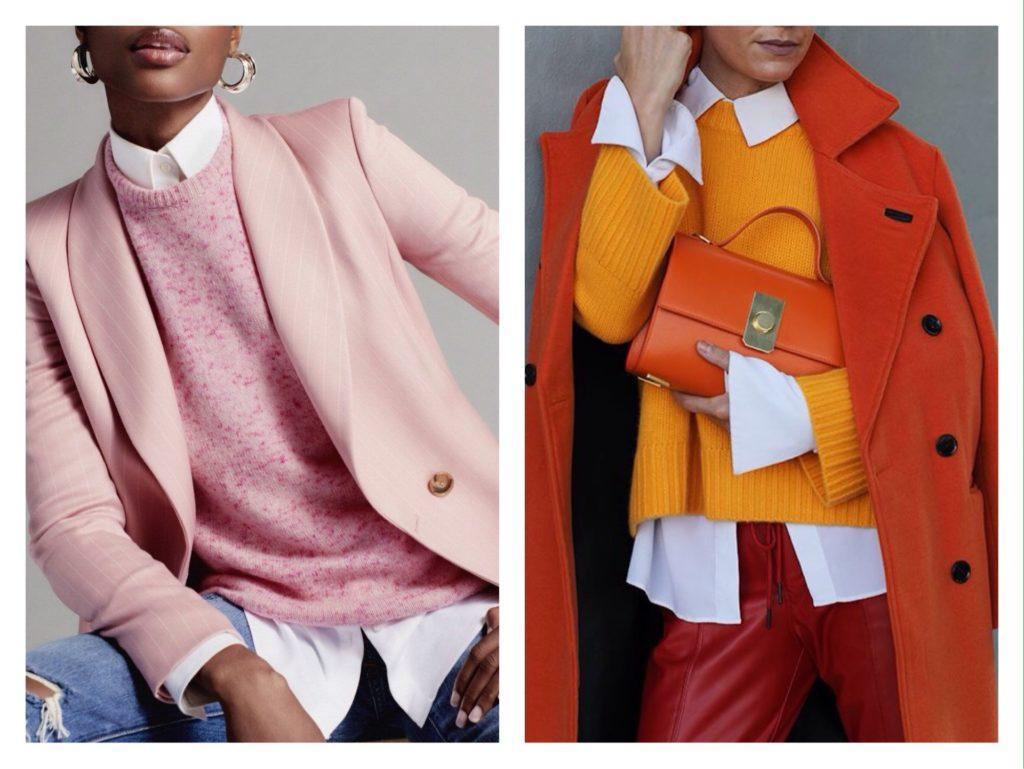 свитер в многослойности