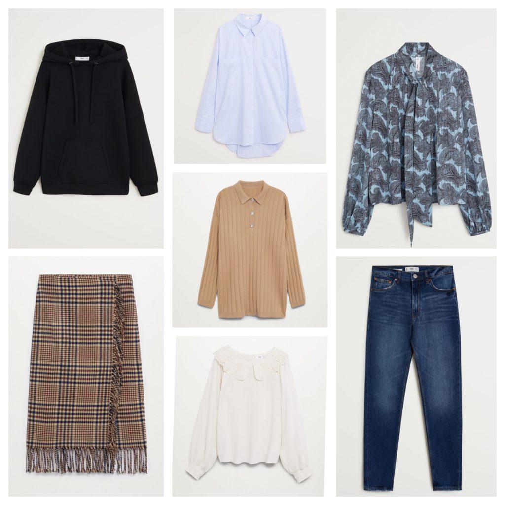 капсула одежды на зиму от Манго