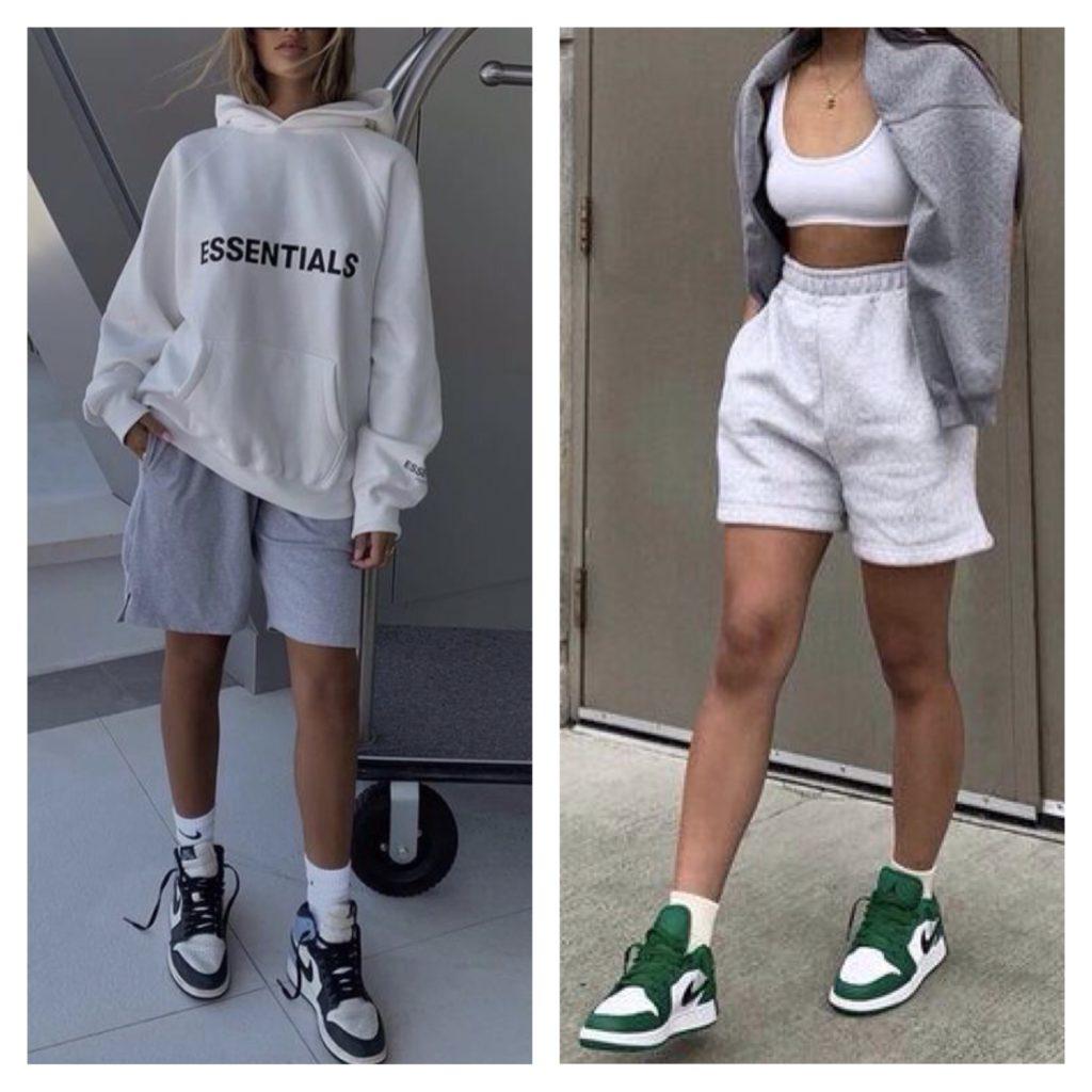 шорты в спортивном стиле